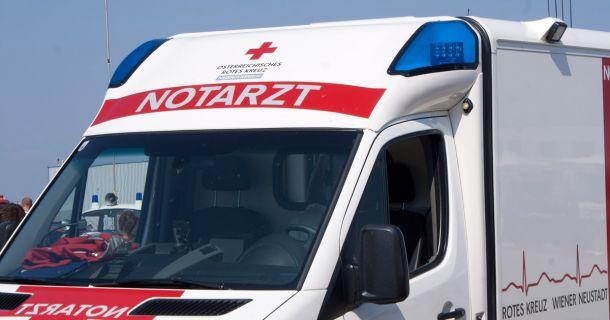 Foto: Notarzt-Fahrzeug