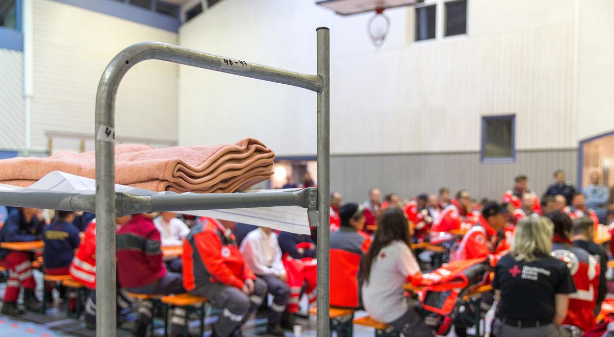Notquartier für Flüchtlinge / Foto: Franz Ferdinand Photography via Flickr (CC BY-NC 2.0)