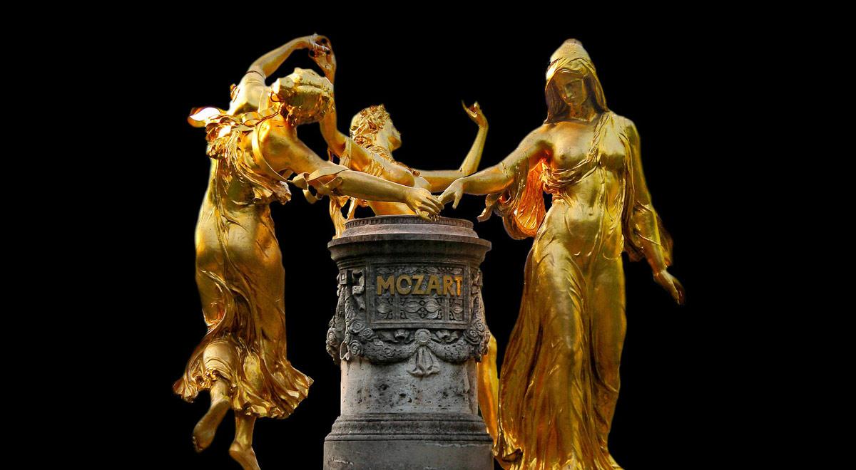 Mozart Brunnen / Foto: pixabay