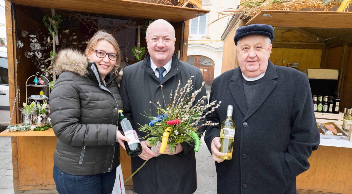 Eröffnung Ostermarkt am Dom / Foto: Wiener Neustadt/Weller