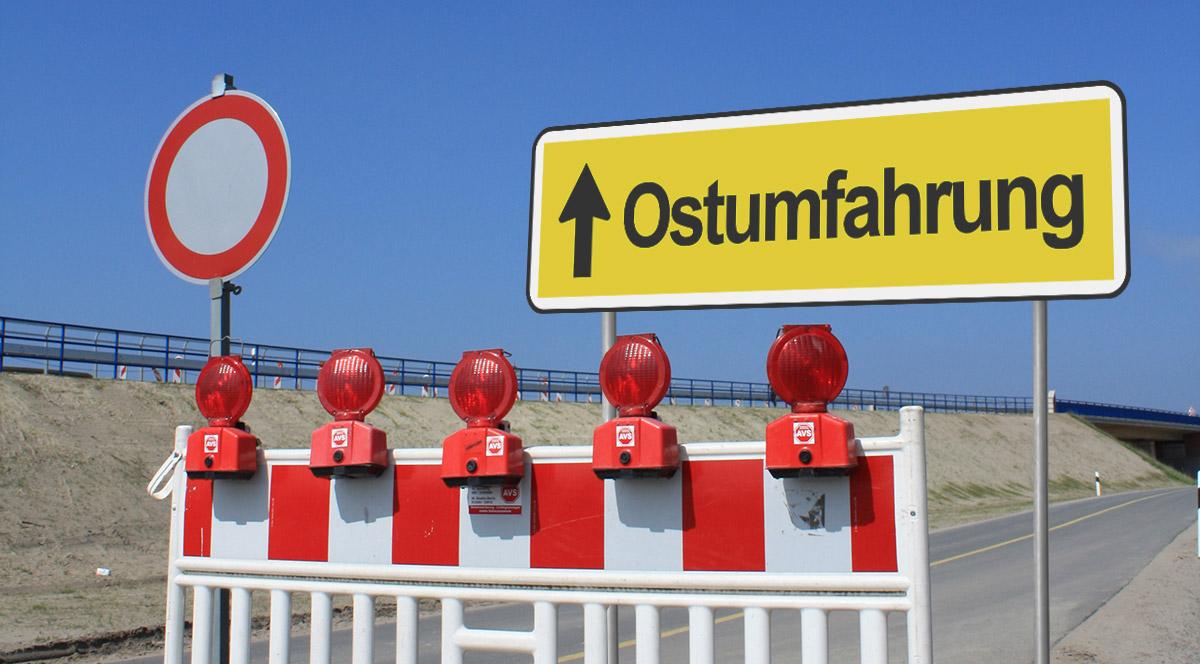 Baustelle Ostumfahrung / ©  Kenneth Brockmann / pixelio.de