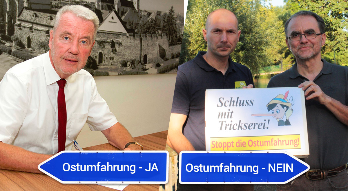 Ostumfahrung Initiativen / Foto: Wiener Neustadt (Weller) / Radlobby