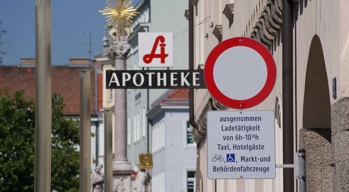 Zufahrt Hauptplatz Wiener Neustadt / Foto: Robert Mayer / wn24
