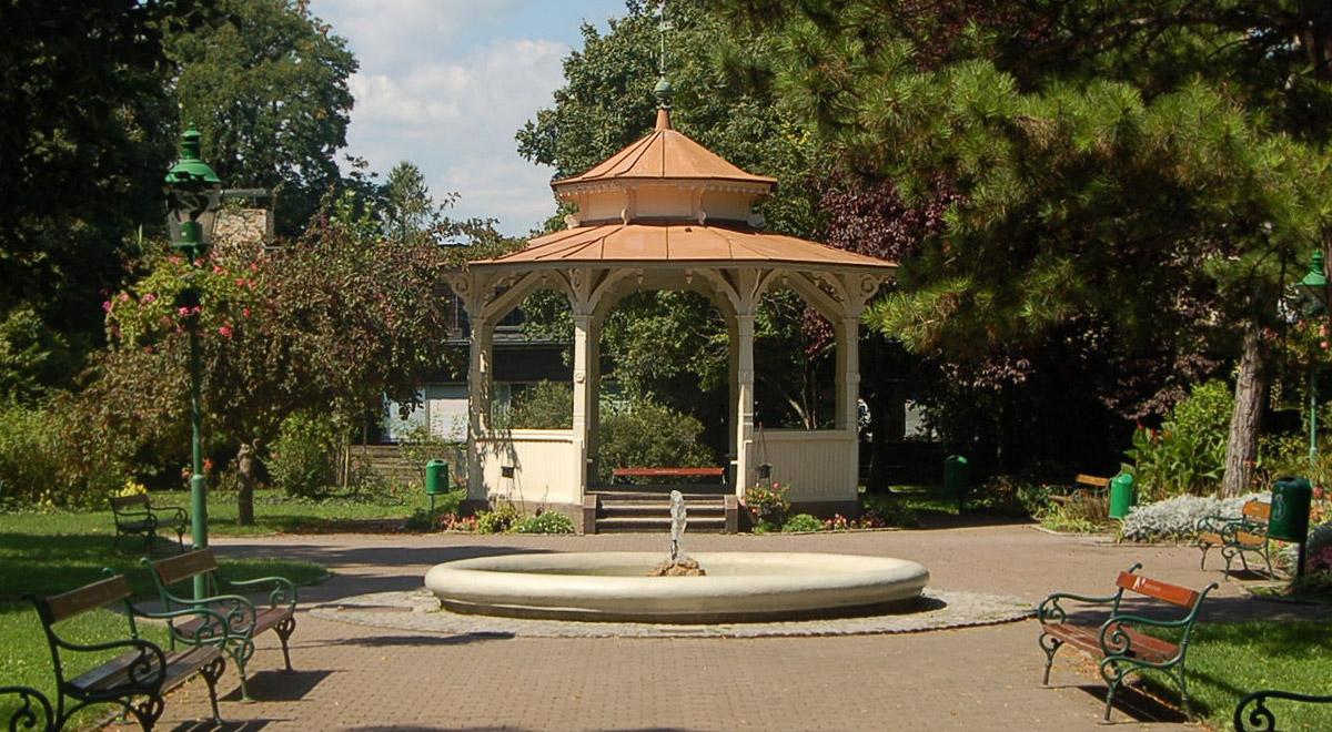 Pavillon im Stadtpark / Foto: Wolfgang Glock  (CC BY 3.0)