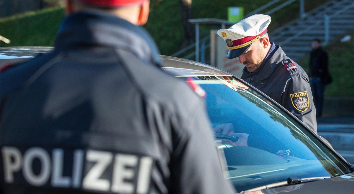 Polizeikontrolle / Foto: ©  BMI/Gerd Pachauer