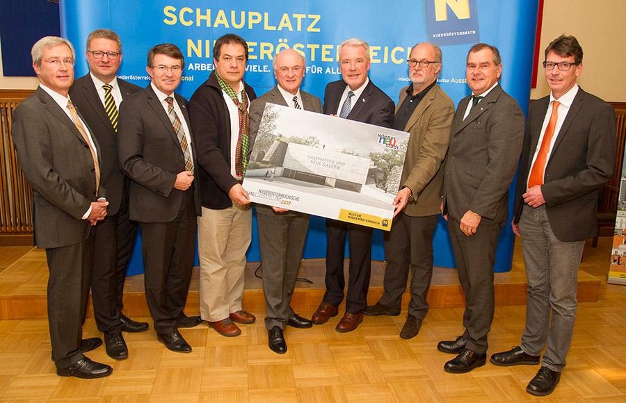 Präsentation Siegerprojekt Kasematten / Foto: Wiener Neustadt/Weller