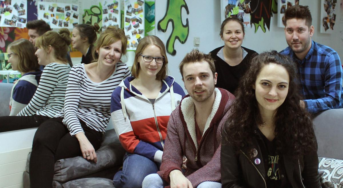 """Projekt """"Triebühne"""" / Foto: Verein Jugend & Kultur"""