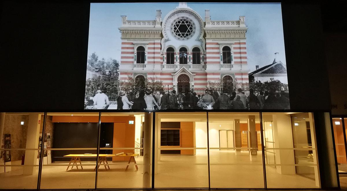 Projektion Museum St. Peter an der Sperr / Foto: Stadt Wiener Neustadt