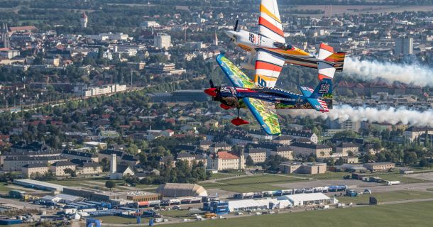 Foto: Red Bull Air Race - Flugfeld Wr. Neustadt