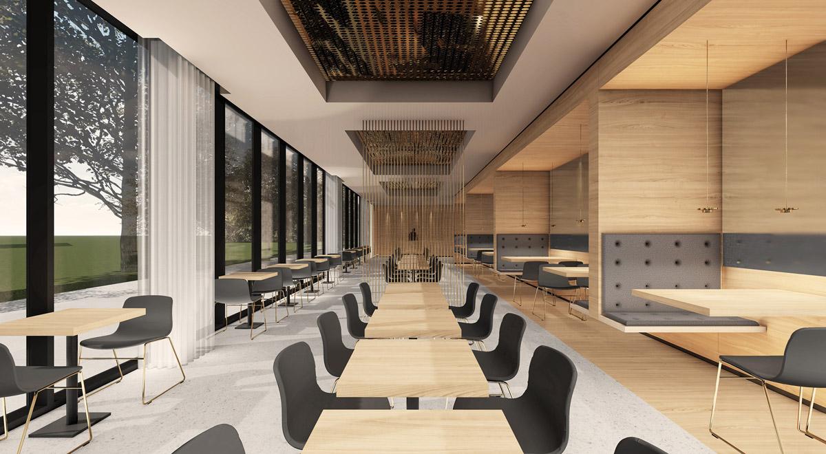 Restaurant Garden Inn Wiener Neustadt / Foto: kaltenbacher architektur