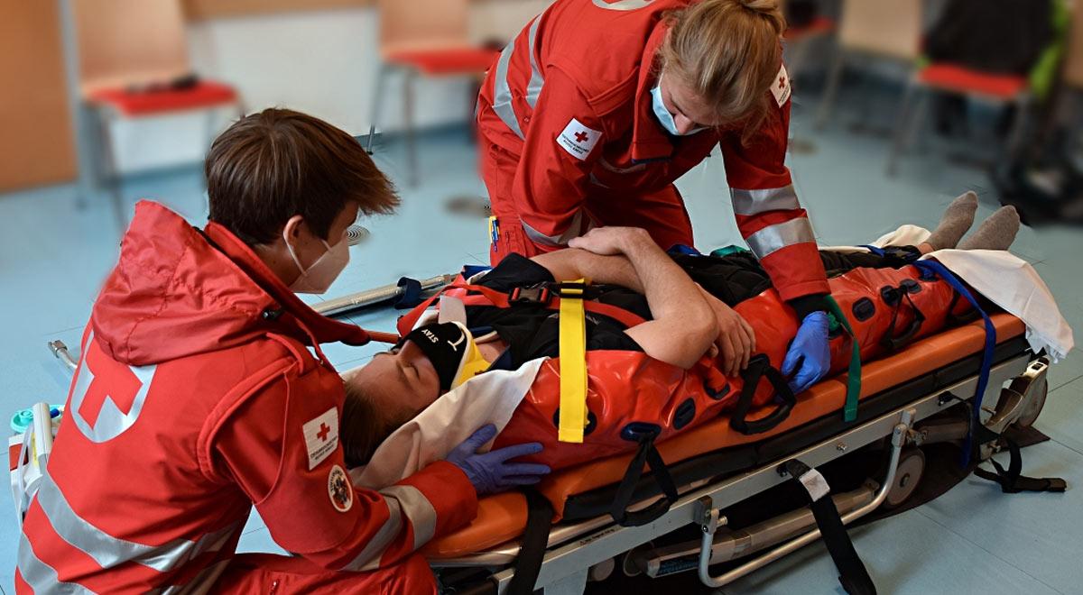Rettungssanitäter-Ausbildung / Foto: RKNÖ / Th. Hackl