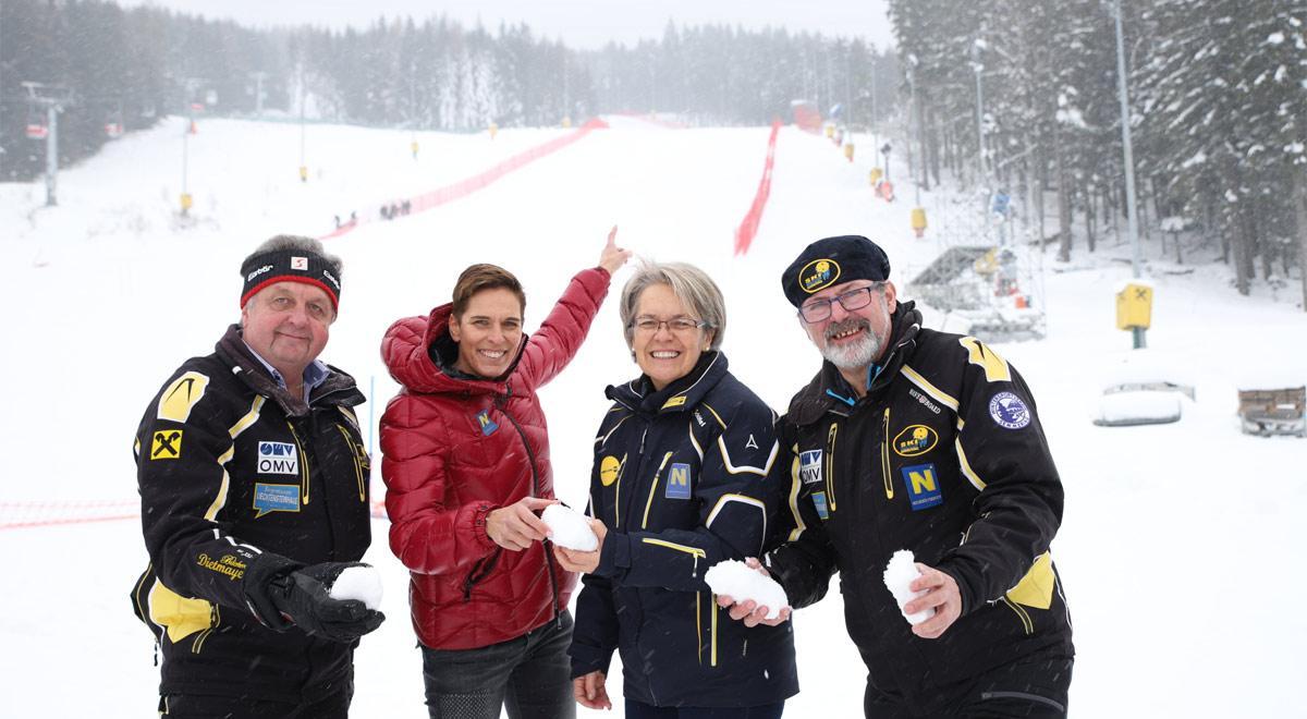Riesentorlauf und Slalom am Semmring / Foto: A. Felten