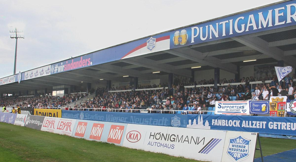Sc-Wiener-Neustadt-Stadion-Schulden / Foto: Steindy via wikimedia (CC BY-SA 4.0)