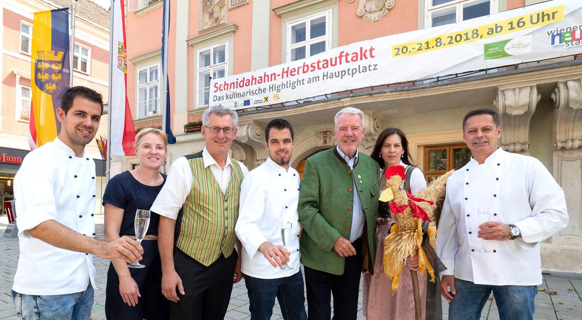 Schnidahahn-Herbstauftakt 2018 / Foto: Wiener Neustadt/Weller