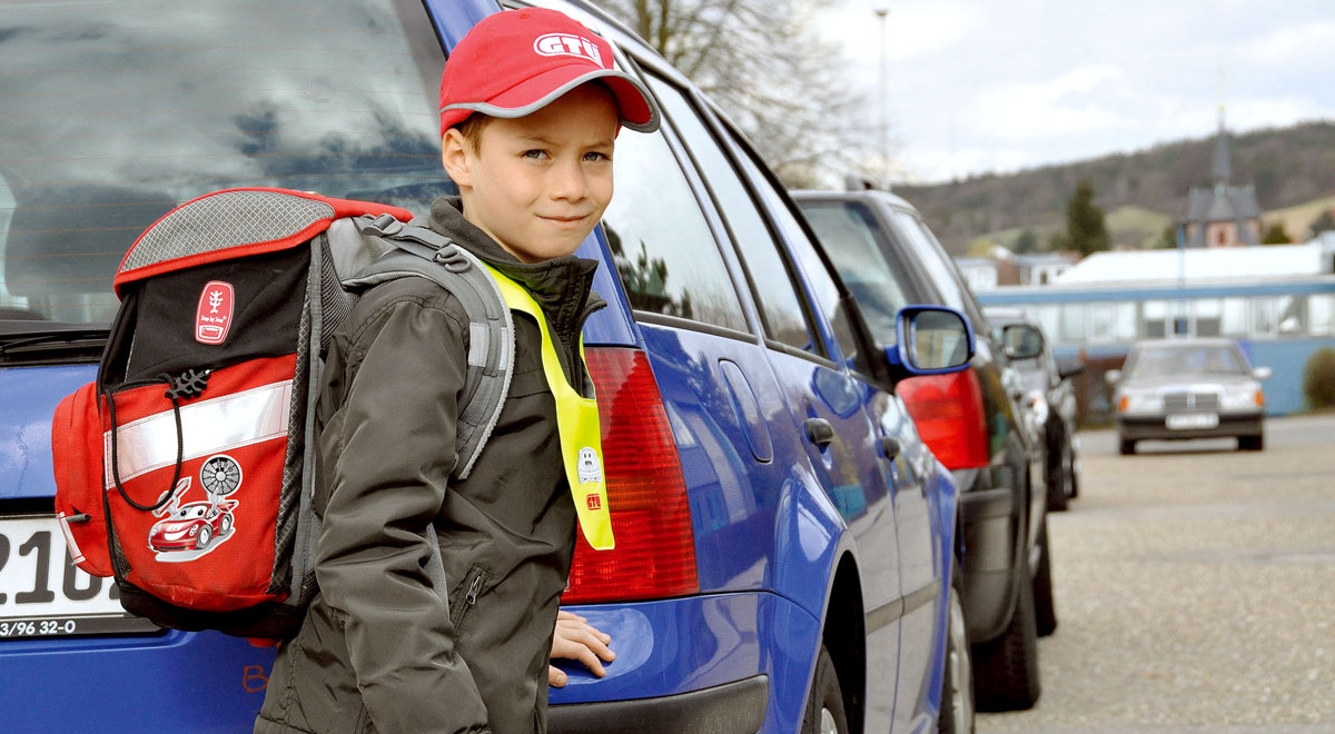 Sicherheit am Schulweg / ©  GTÜ / pixelio.de