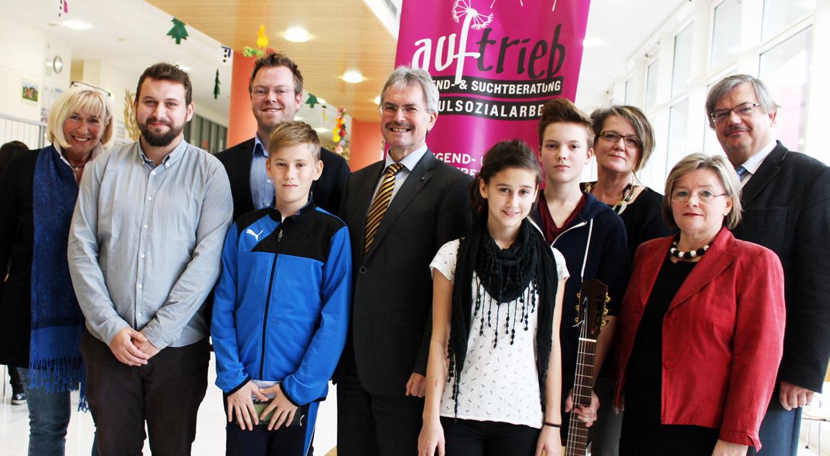 Schulsozialarbeit an der Sport-Mittelschule / Foto: Verein Jugend & Kultur
