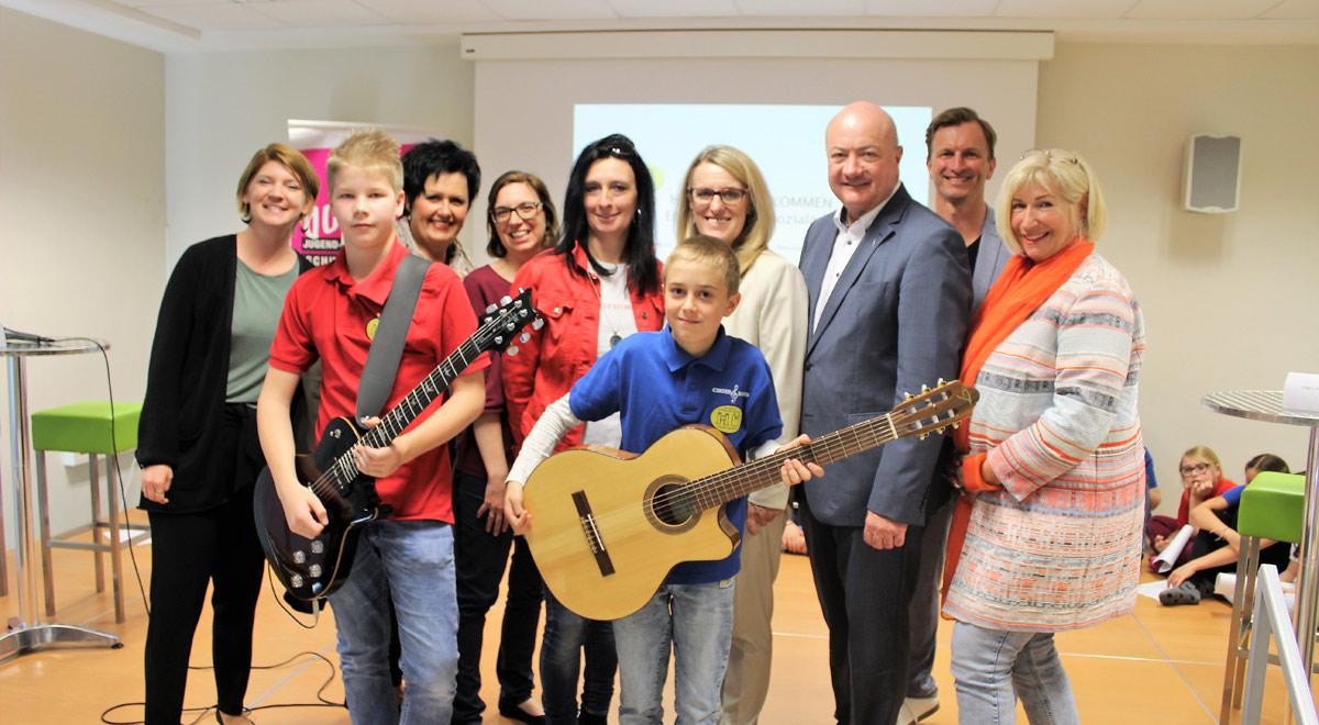 Schulsozialarbeit Bilingual Junior High / Foto: Verein Jugend & Kultur