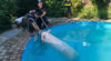 Schwein im Pool / Foto: Presseteam ffwrn.at