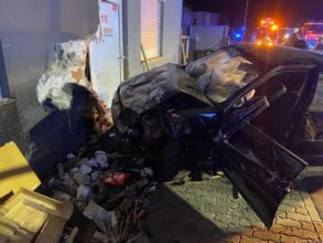 Schwerer Verkehrsunfall mit Menschenrettung / Foto: Presseteam d. FF Wr. Neustadt