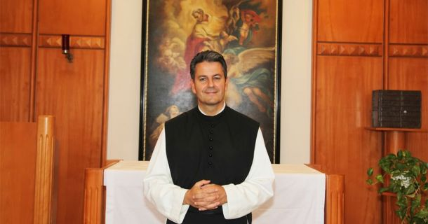 Foto: Seelsorger Pater Pirmin