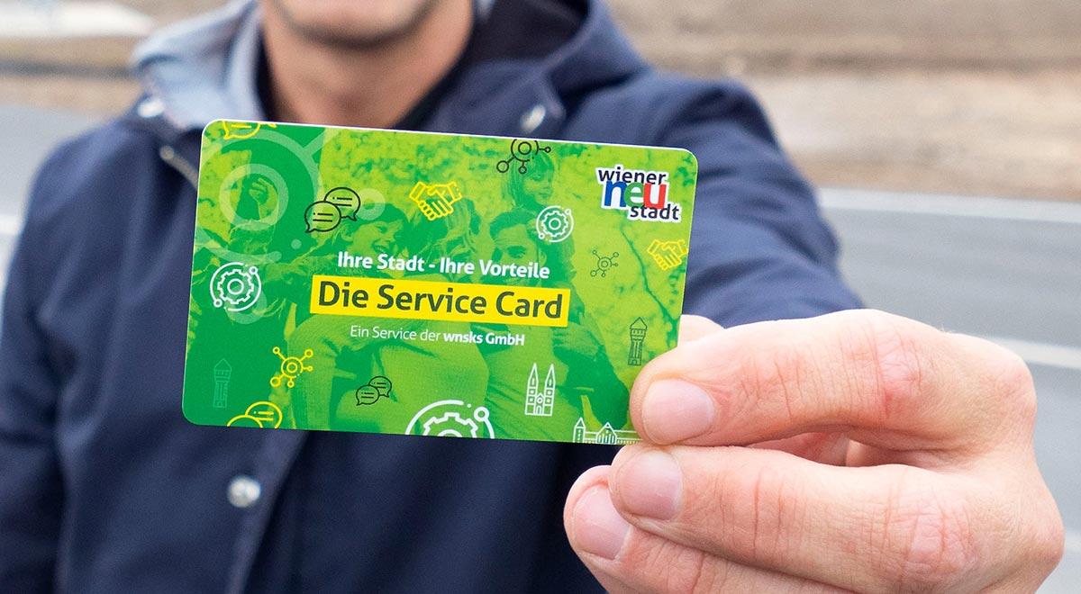 Service-Card / Foto: Stadt Wiener Neustadt/Weller