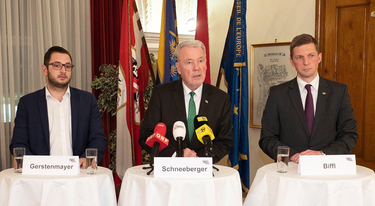 Sicherheitsgipfel 2019 / Foto: Stadt Wiener Neustadt/Weller