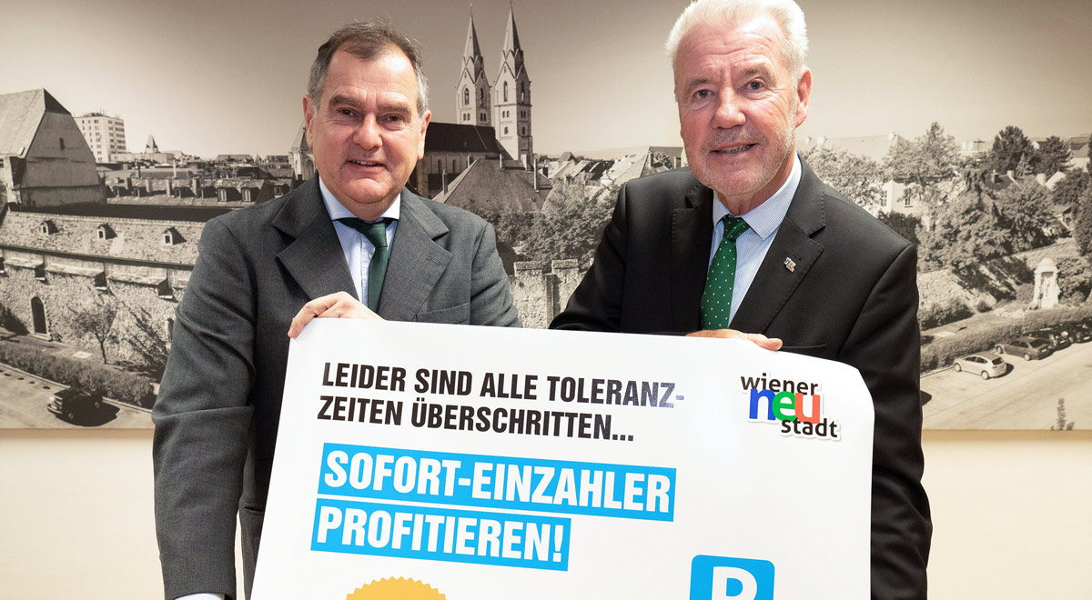 Sofortzahler-Bonus / Foto: Stadt Wiener Neustadt/Weller