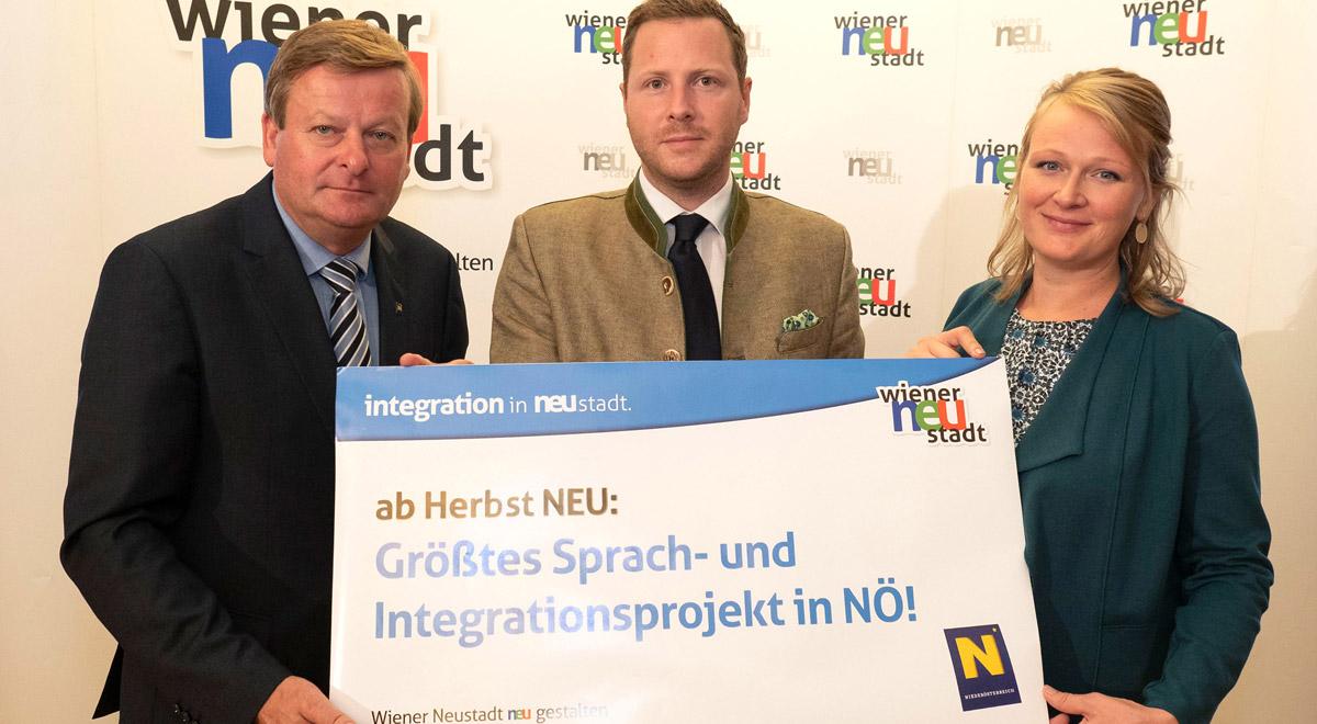 Sprach- und Integrationsoffensive / Foto: Wiener Neustadt/Weller