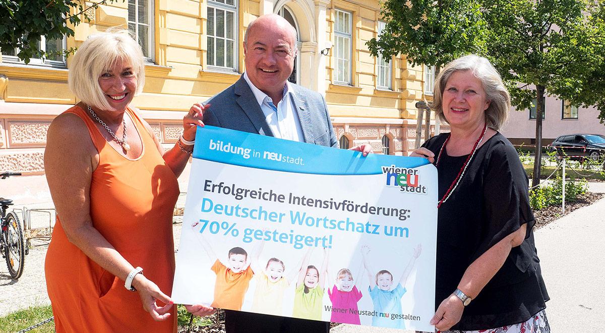Intensiv-Sprachförderung / Foto: Wiener Neustadt/Pürer