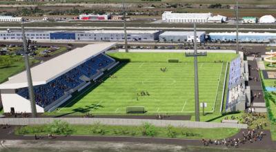 Stadion-Neubau / Foto: Büro Baumeister Ing. Michael Ebner