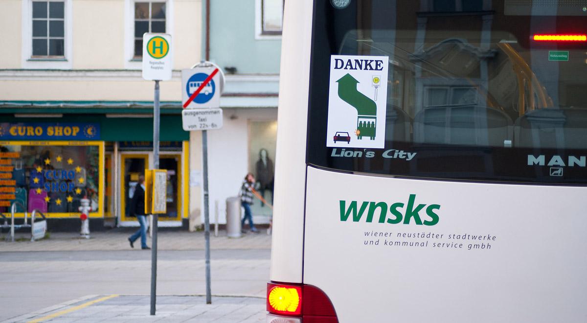 Stadtbus Wiener Neustadt / Foto: Robert Mayer / wn24