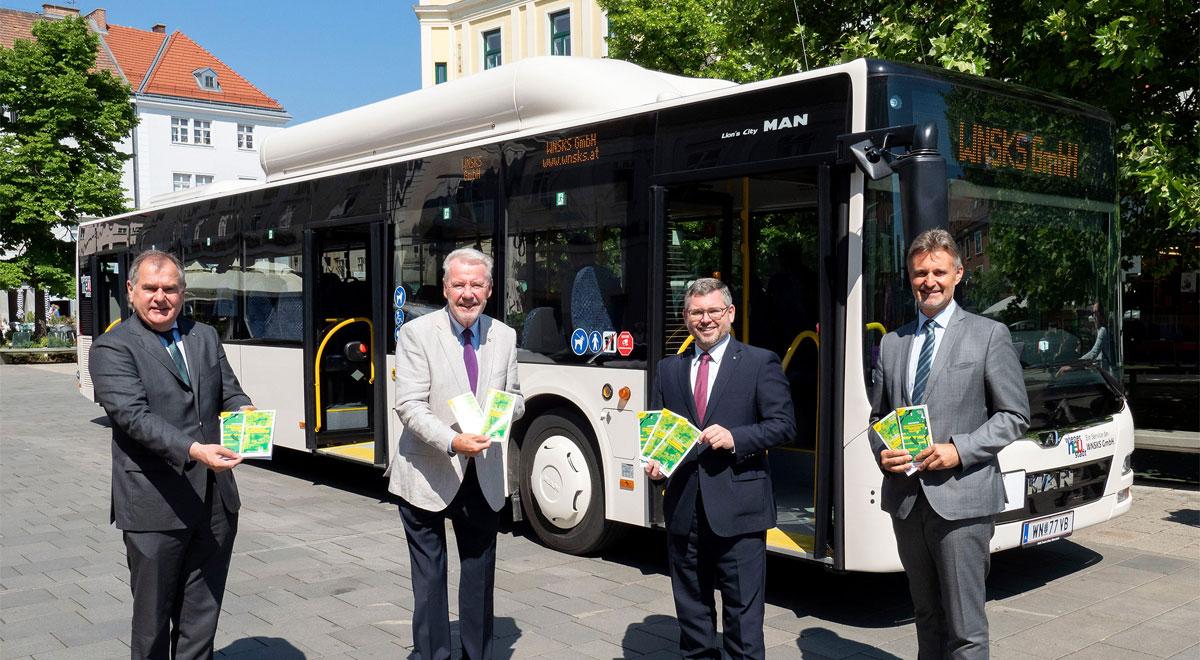 Neues Stadtbus-Konzept / Foto: Stadt Wiener Neustadt/Weller