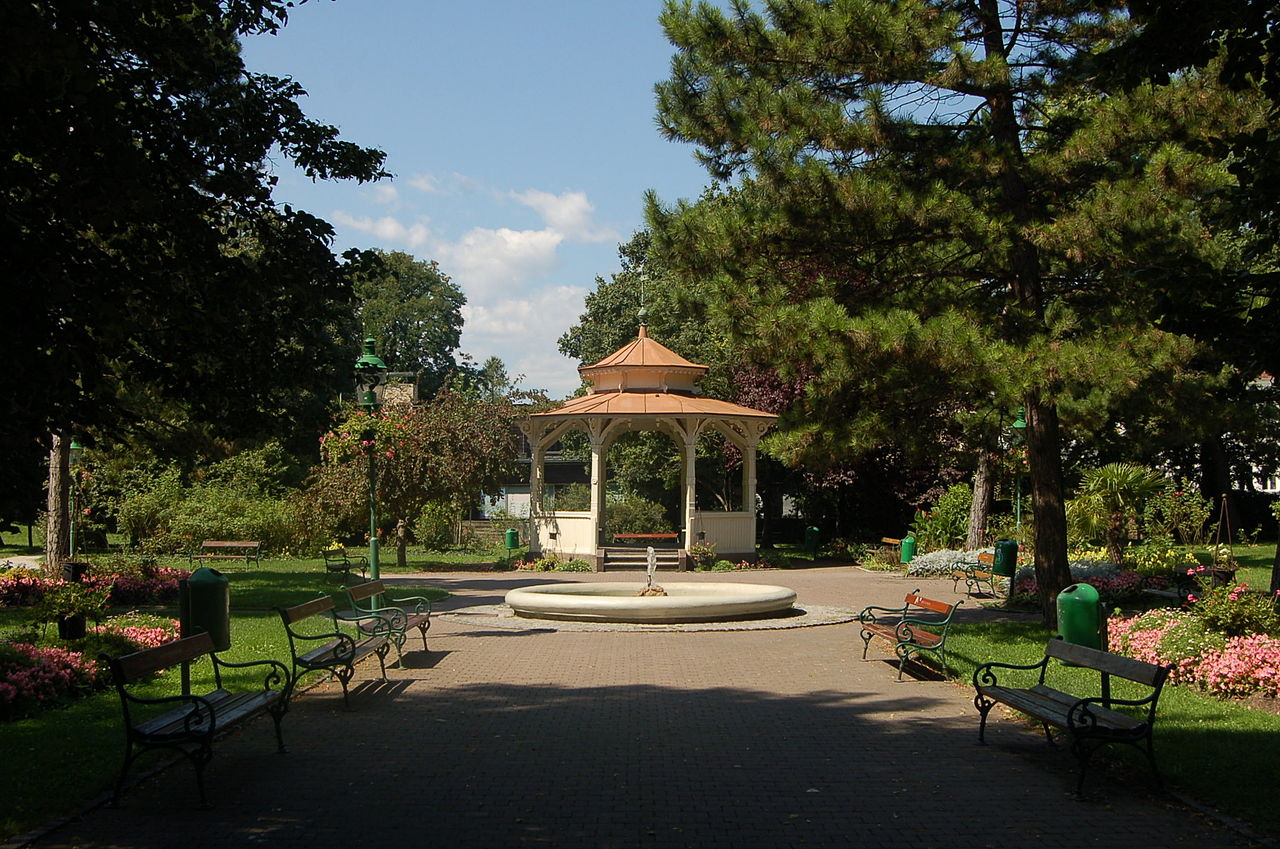 Stadtpark Wiener Neustadt Pavillon / Foto: Wolfgang Glock  (CC BY 3.0)