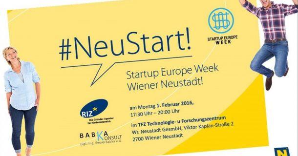 Foto: Startup Europe Week