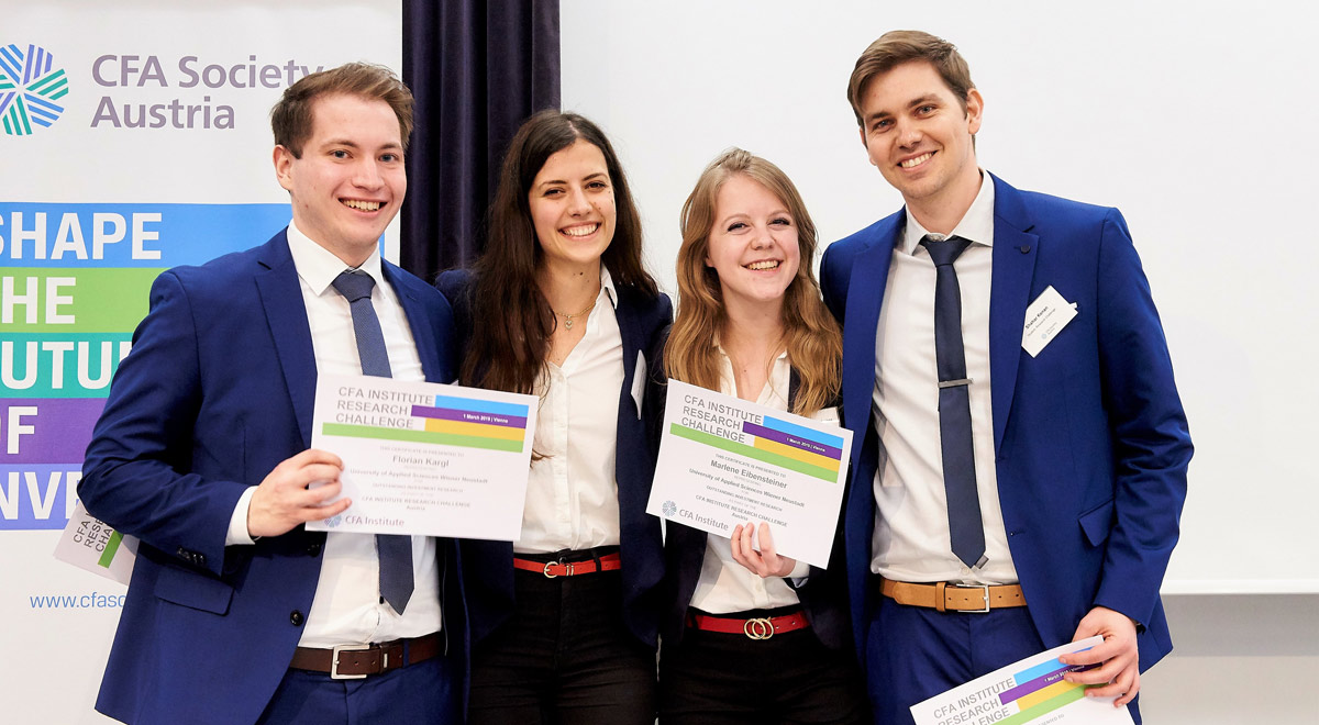 CFA Institute Research Challenge / Foto: © CFA Institute Austria