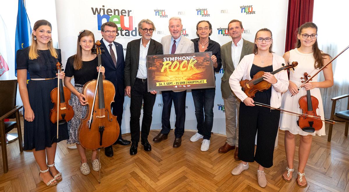 Symphonic Rock 2019 / Foto: Wiener Neustadt/Weller