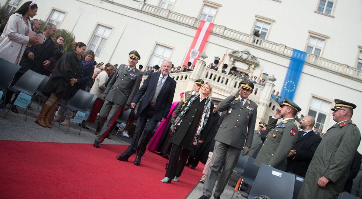 Tag der Leutnante 2021 / Foto: Bundesheer/Carina Karlovits
