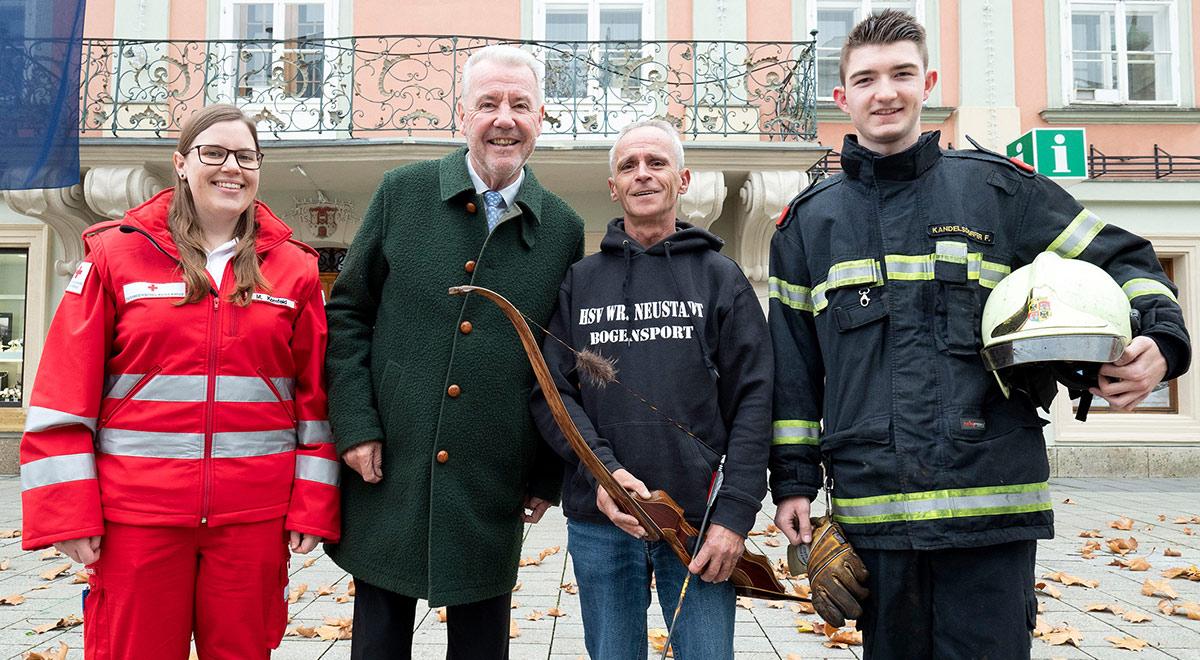 Tag des Ehrenamtes / Foto: Stadt Wiener Neustadt/Weller