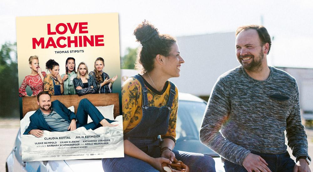 """Kinotour: Thomas Stipsits als """"Love Machine"""" / Foto: Allegro Film"""