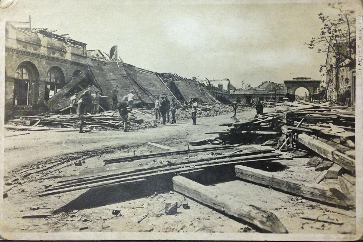 Lokomotivfabrik Tornado 1916 / Foto: Postkarten/Fotos im Privatbesitz Ursula Hilmar