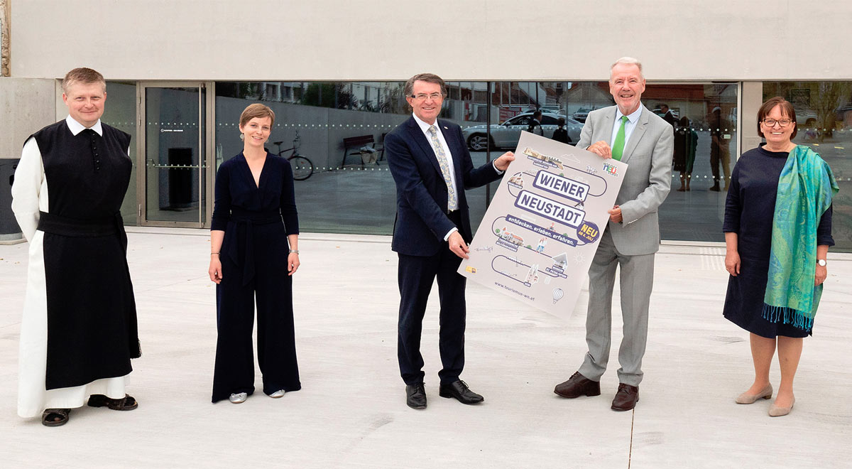 Tourismus-Programm 2020 / Foto: Stadt Wiener Neustadt/Weller