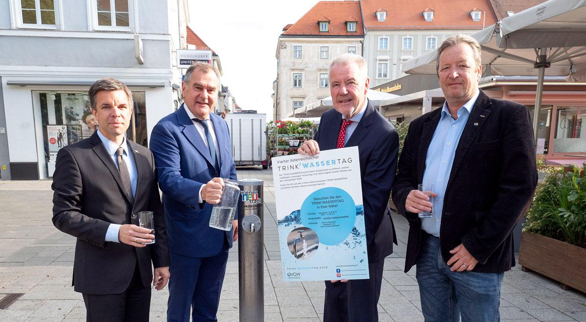 Trinkwassertag 2019 / Foto: Stadt Wiener Neustadt/Weller