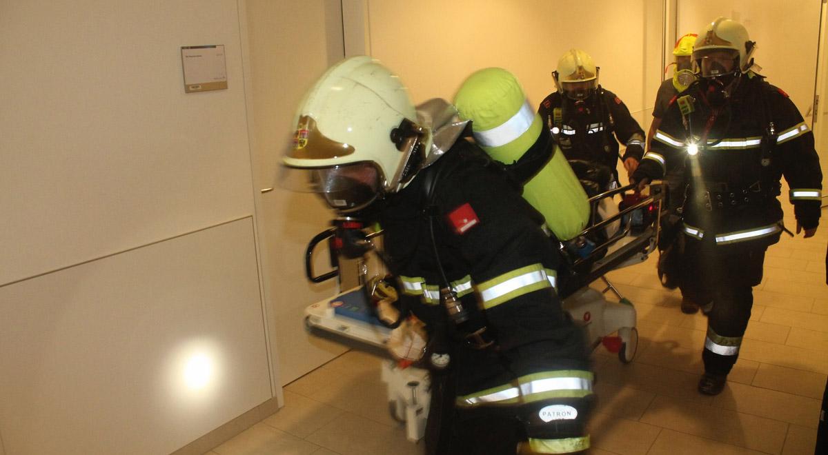 Feuerwehr-Übung MedAustron / Foto: Presseteam der Feuerwehr Wiener Neustadt