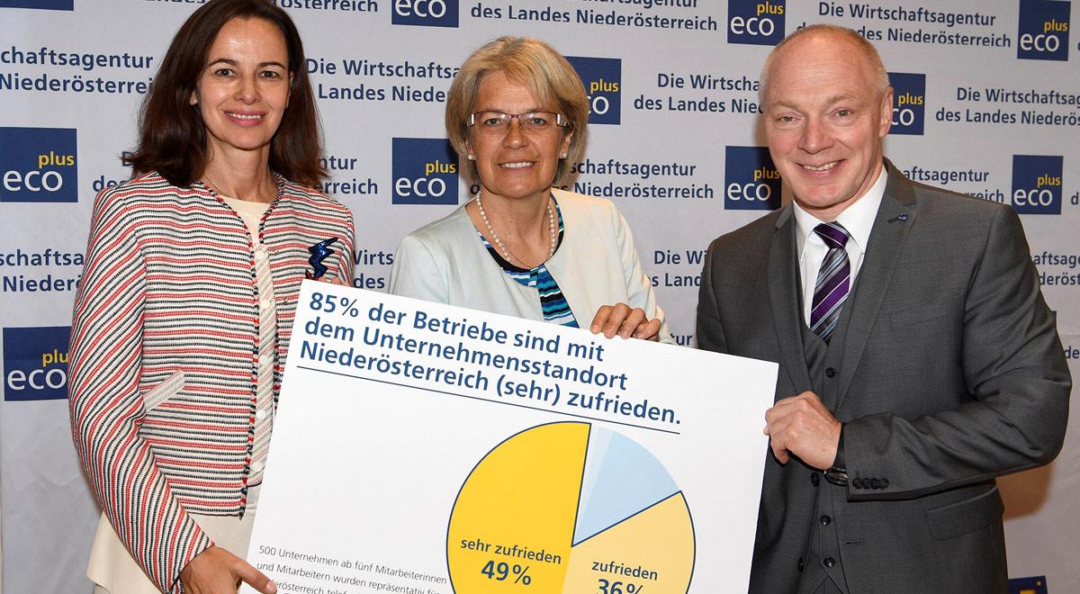 Umfrage Wirtschaft / Foto: © NLK Reinberger