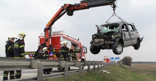 Foto: Verkehrsunfall Knoten Wiener Neustadt