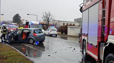 Unfall Pottendorfer Straße / Foto: Presseteam d. FF Wr. Neustadt