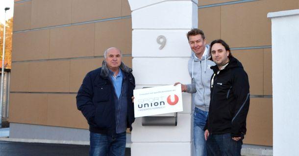 Foto: Neues Vereinsgebäude der Sportunion