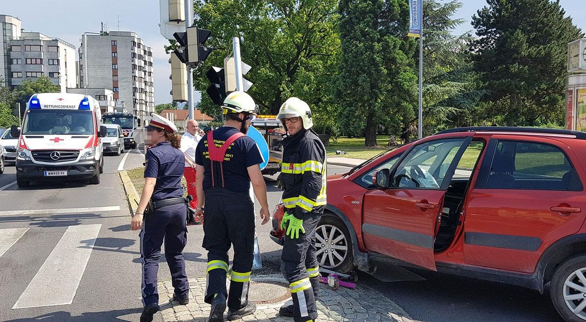 Verkehrsunfall Auge Gottes / Foto: Presseteam ffwrn.at