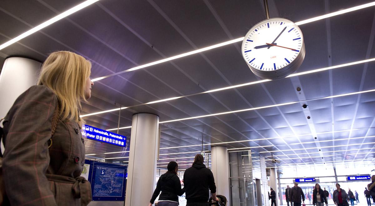 Verspätung im Zugverkehr / Foto: © ÖBB/Zenger