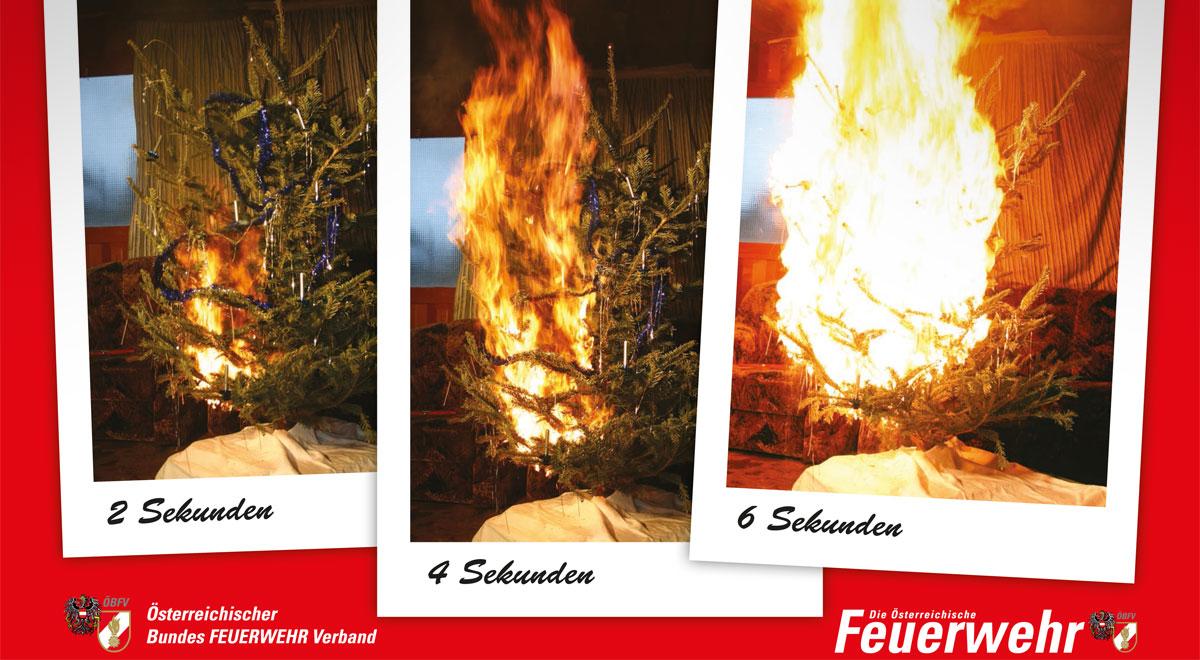 Sicherheitstipps der Feuerwehr Wr. Neustadt für Weihnachten